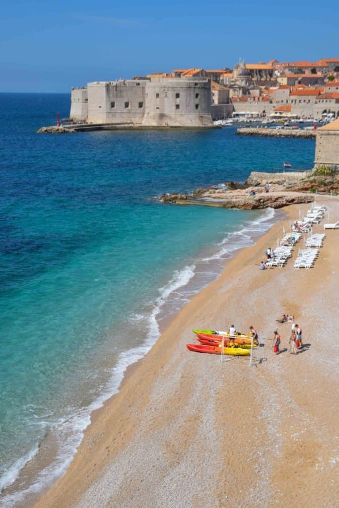Banje Beach Dubrovnik Croatia