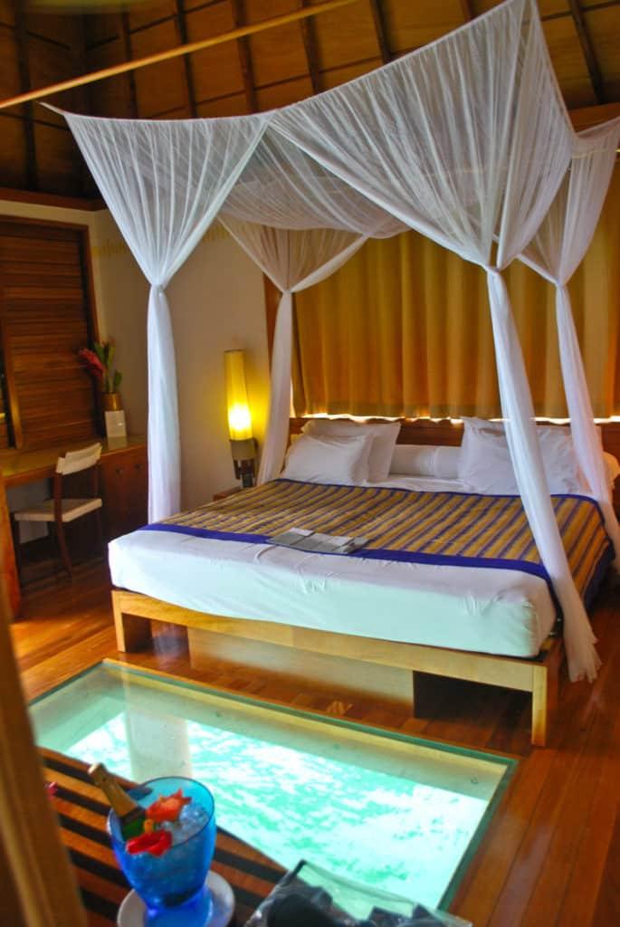 HIlton Bora Bora Overwater Bungalow