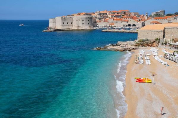 Dubrovnik Croatia Banje Beach
