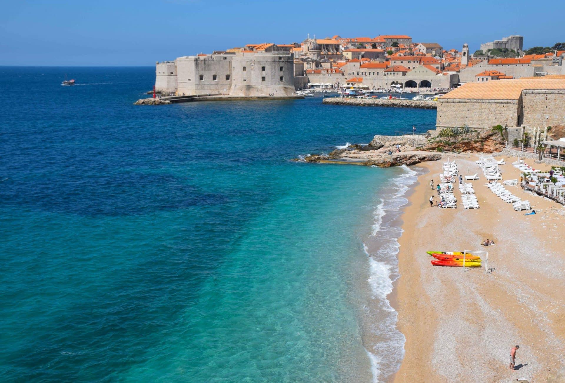 Dubrovnik Croatian Coast Banje Beach