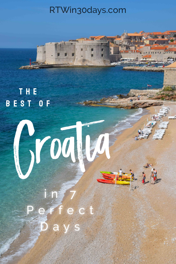 best of Croatia in 7 Days