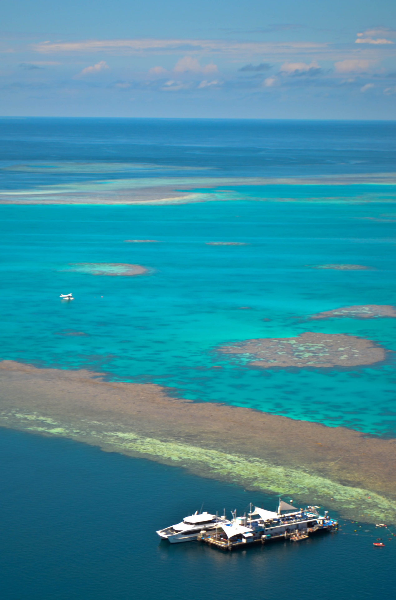 Hardy Pontoon Great Barrier Reef