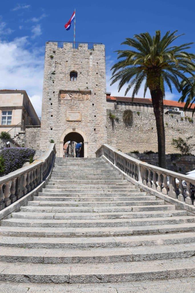 Korcula Old Town Croatia
