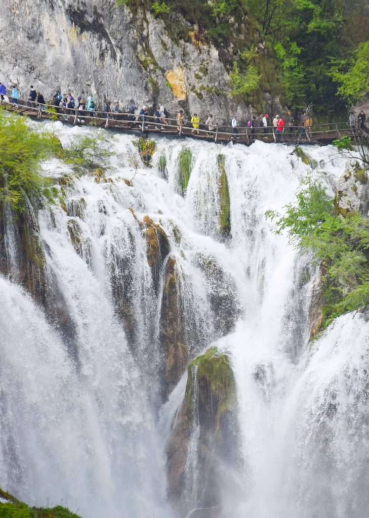 Plitvice Lakes National Park Waterfall Croatia