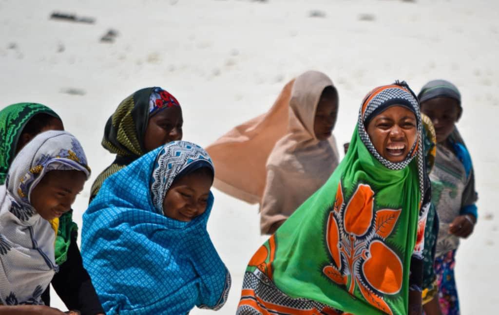 Nungwi Beach Women Zanzibar