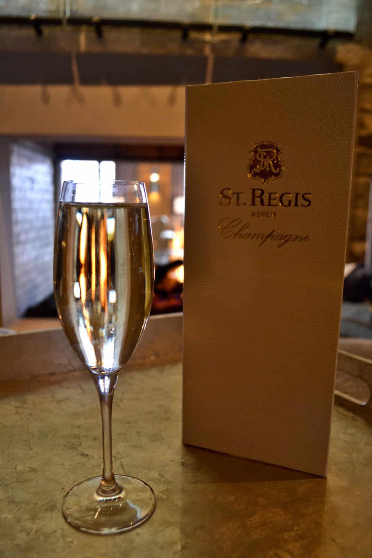 St Regis Aspen Champagne