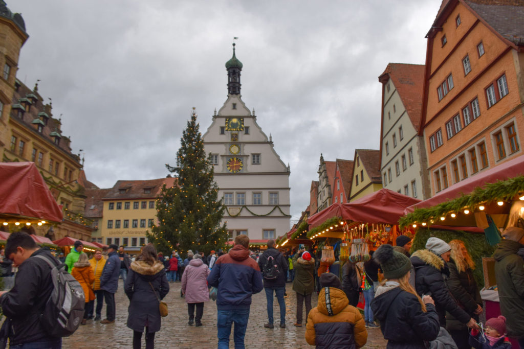 Rothenburg Christmas Market Germany