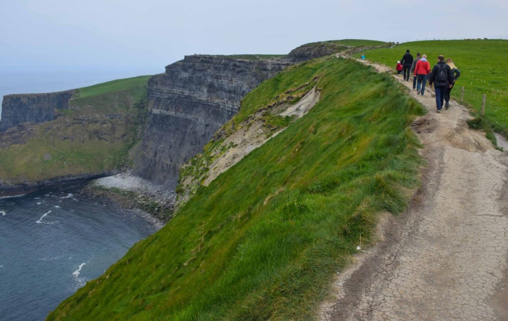 Cliffs of Moher Trails Ireland