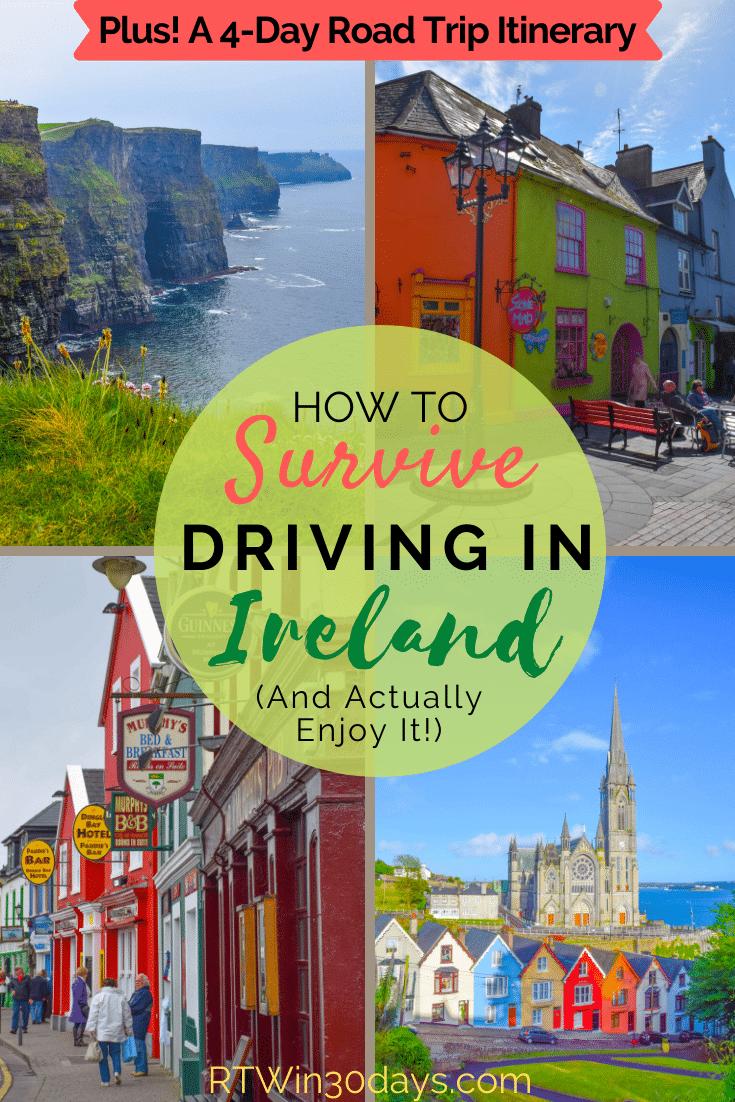 Driving in Ireland Wild Atlantic Way