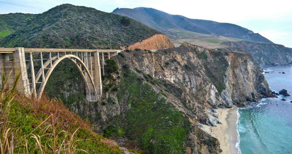 Bixby Bridge Big Sur California Pacific Coast Highway Road Trip