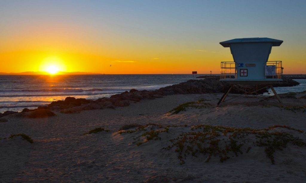 Pacific Coast Highway Sunset Views
