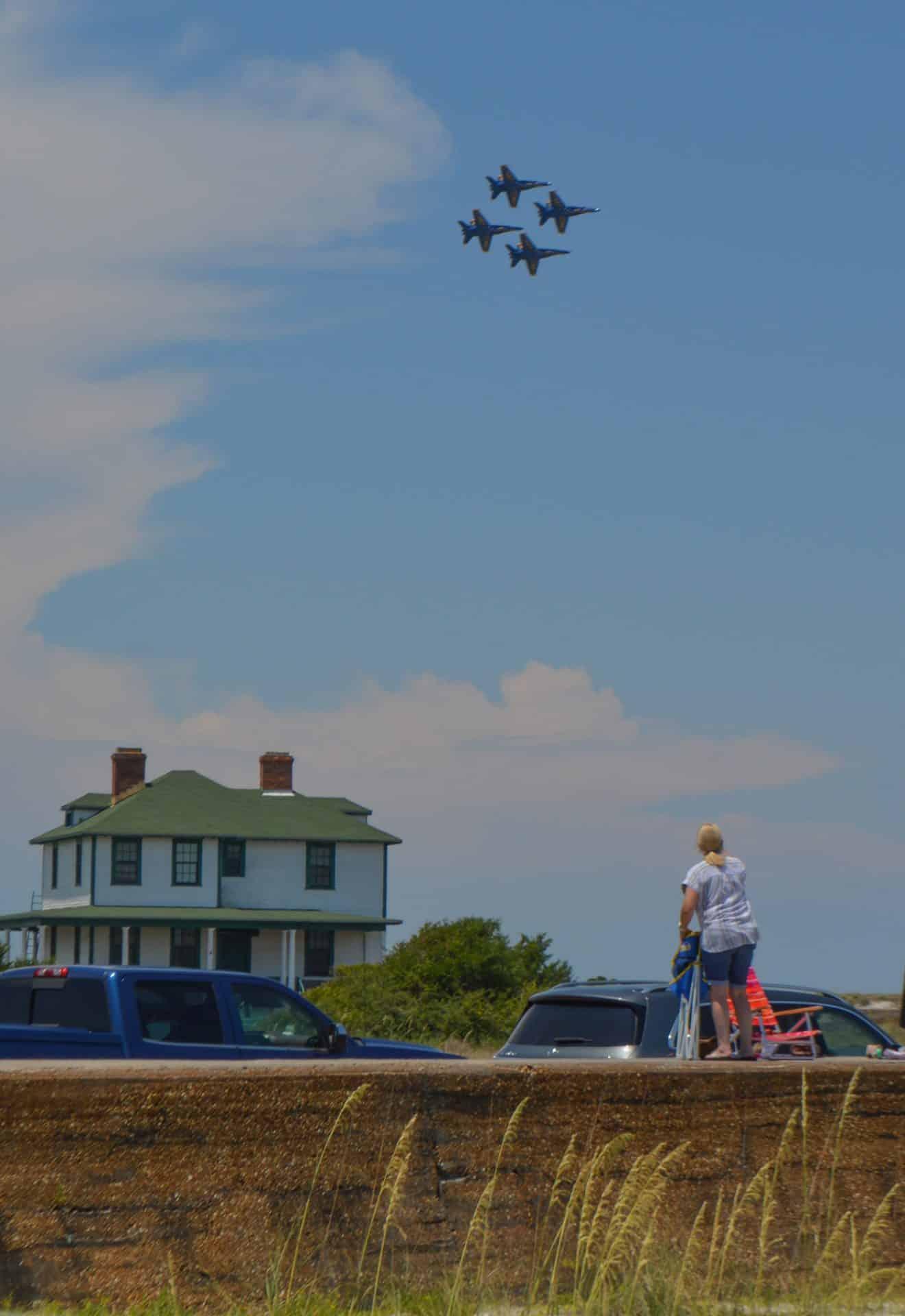Blue Angels Fort Pickens Pensacola Beach