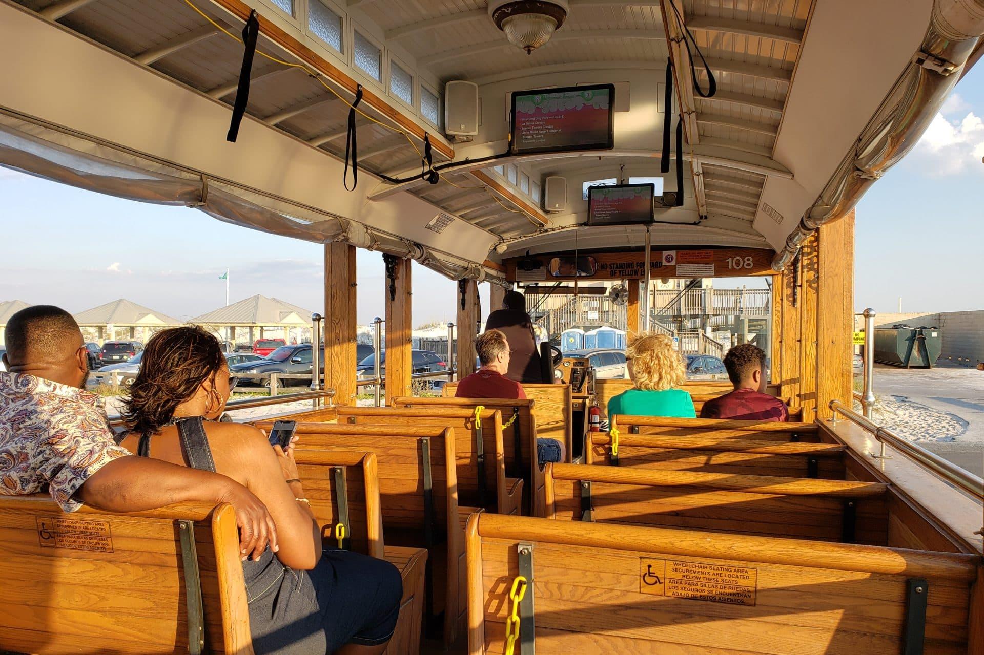 Pensacola Beach Free Trolley