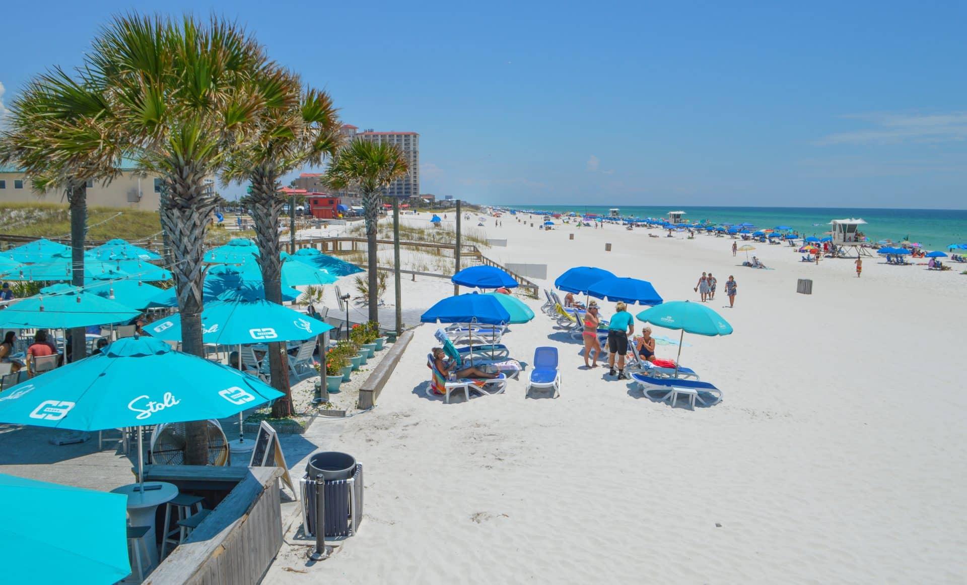 Pensacola Beach downtown