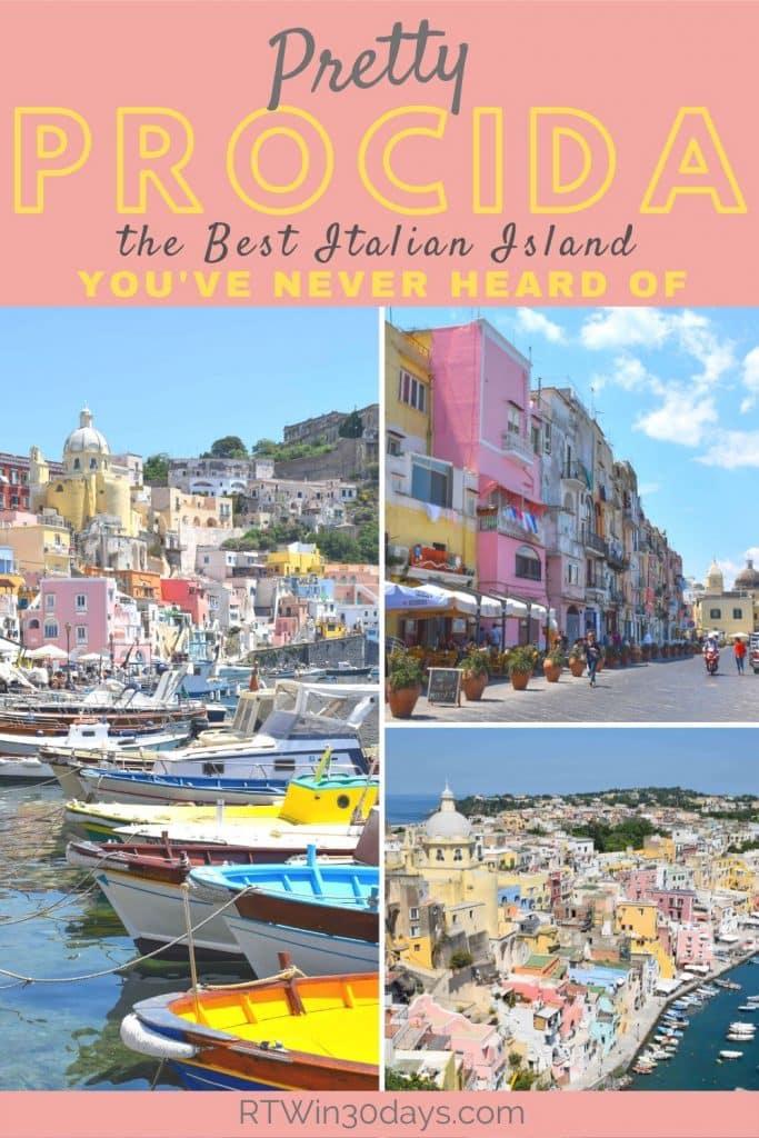 Prodica Island Italy