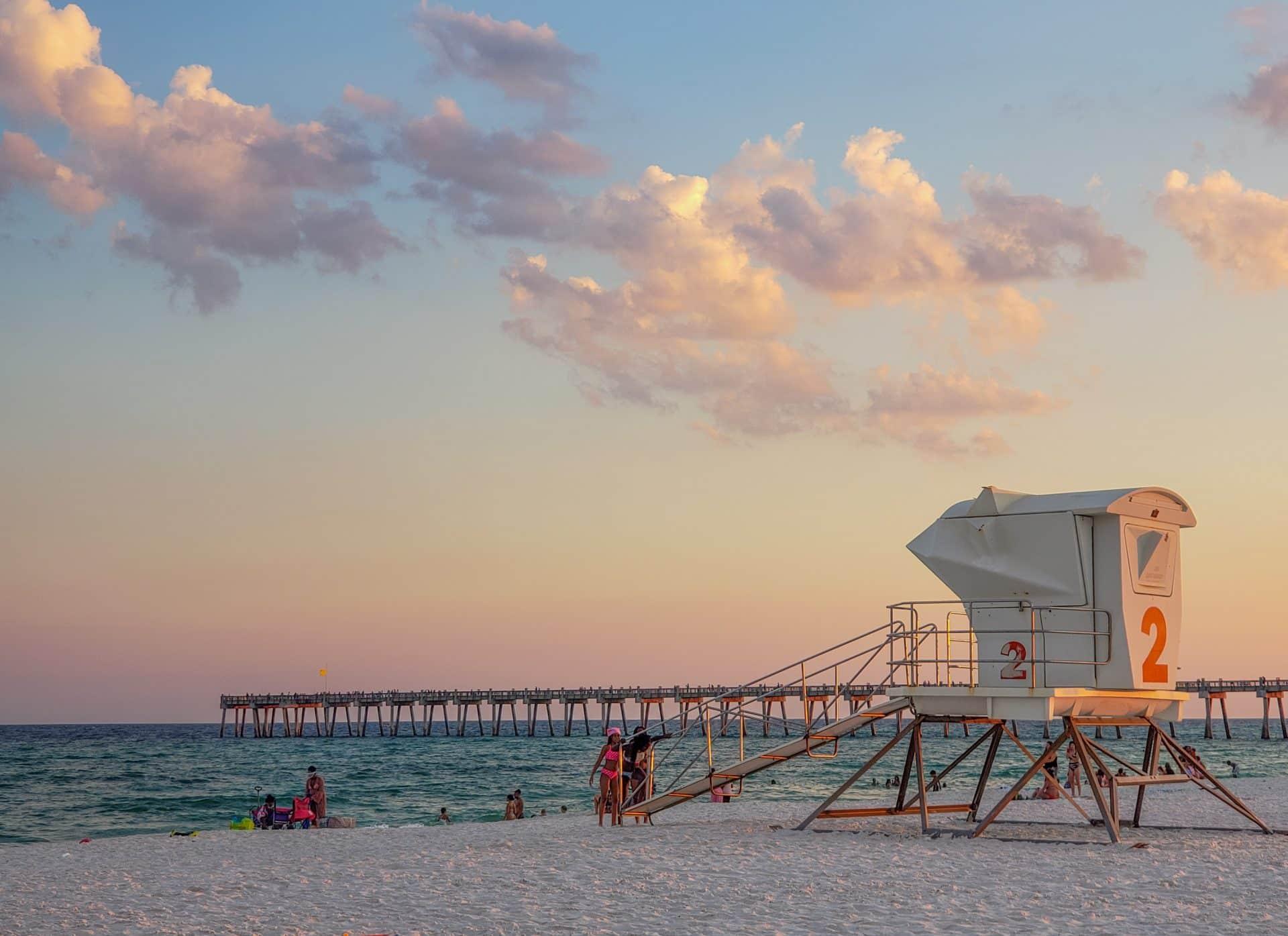 Pensacola Beach Sunset Florida