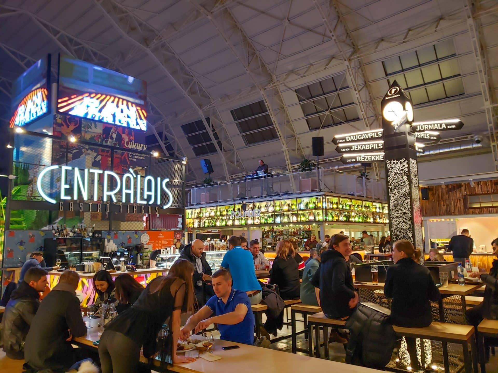 Riga Food Hall Market Latvia