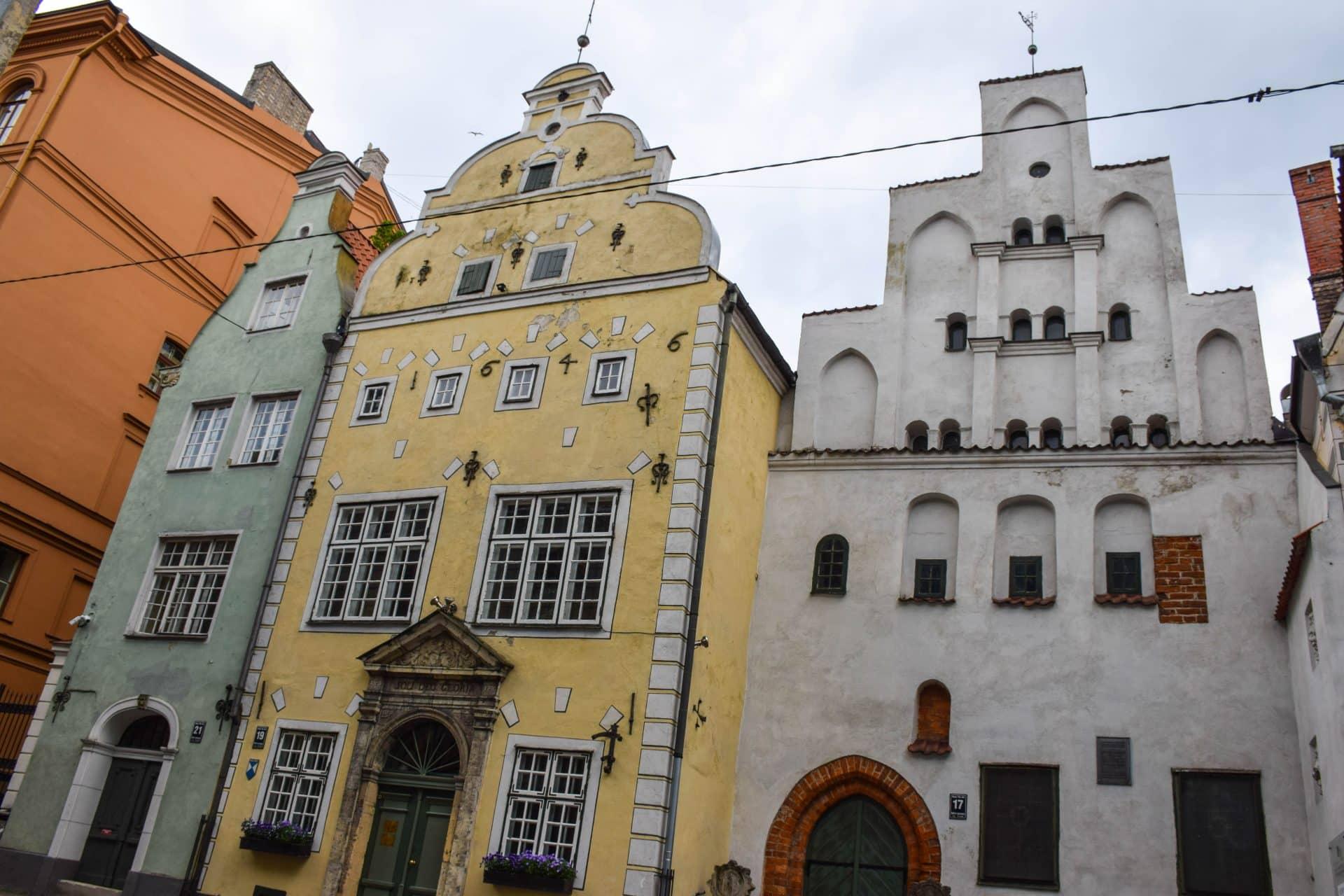 Three Brothers Riga Latvia