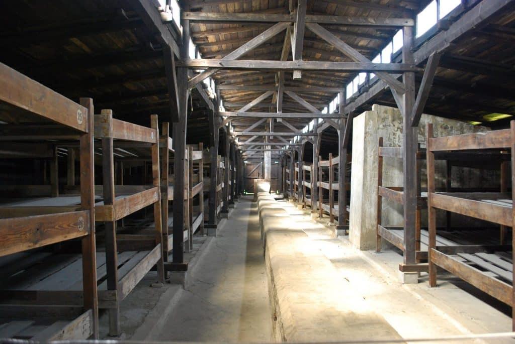 Birkenau Barracks Poland Auschwitz