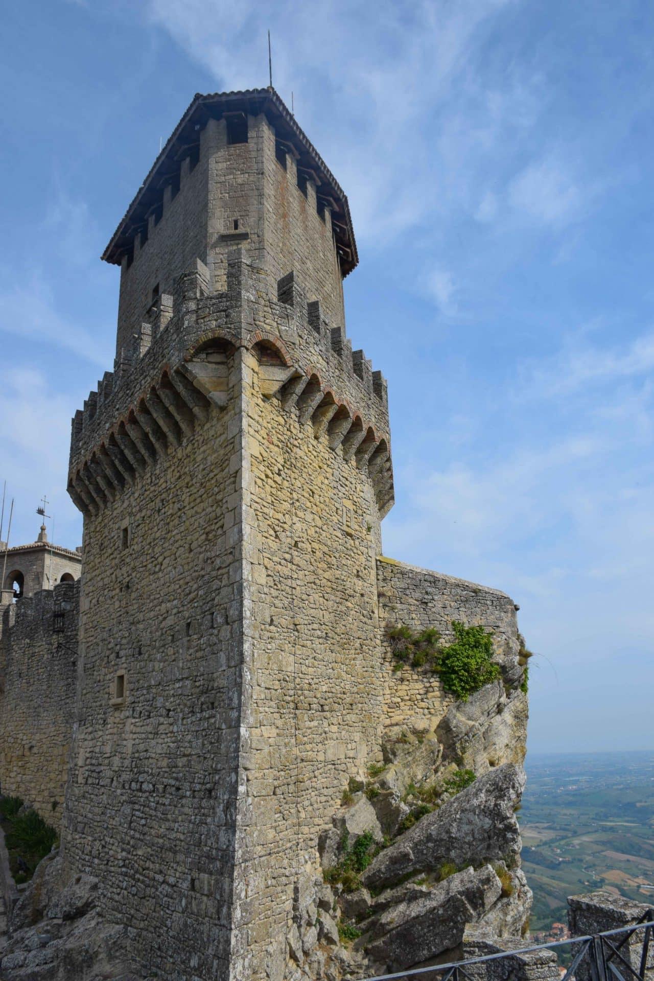 San Marino Italy First Tower