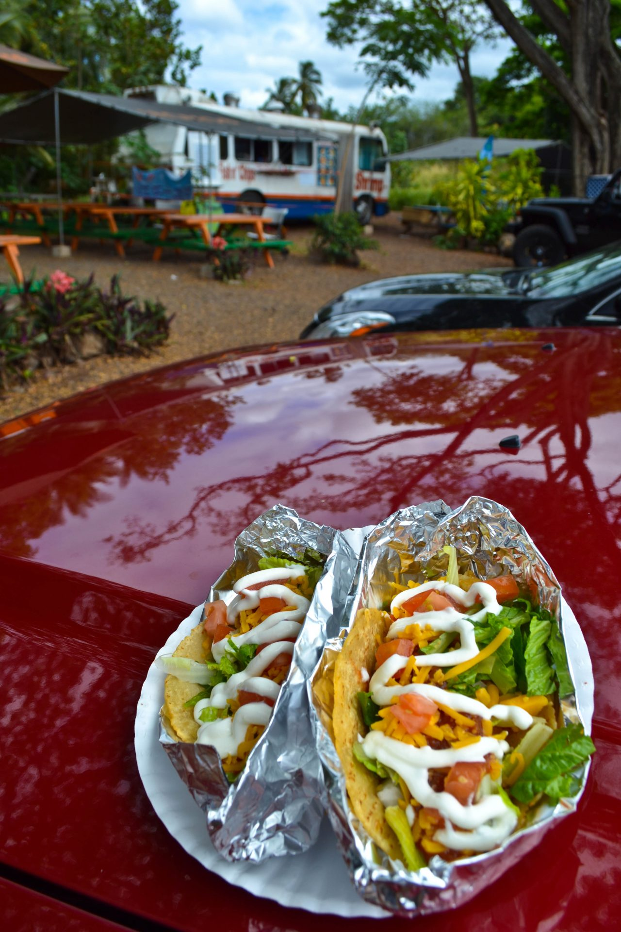 Fish Tacos Food Truck North Shore Oahu