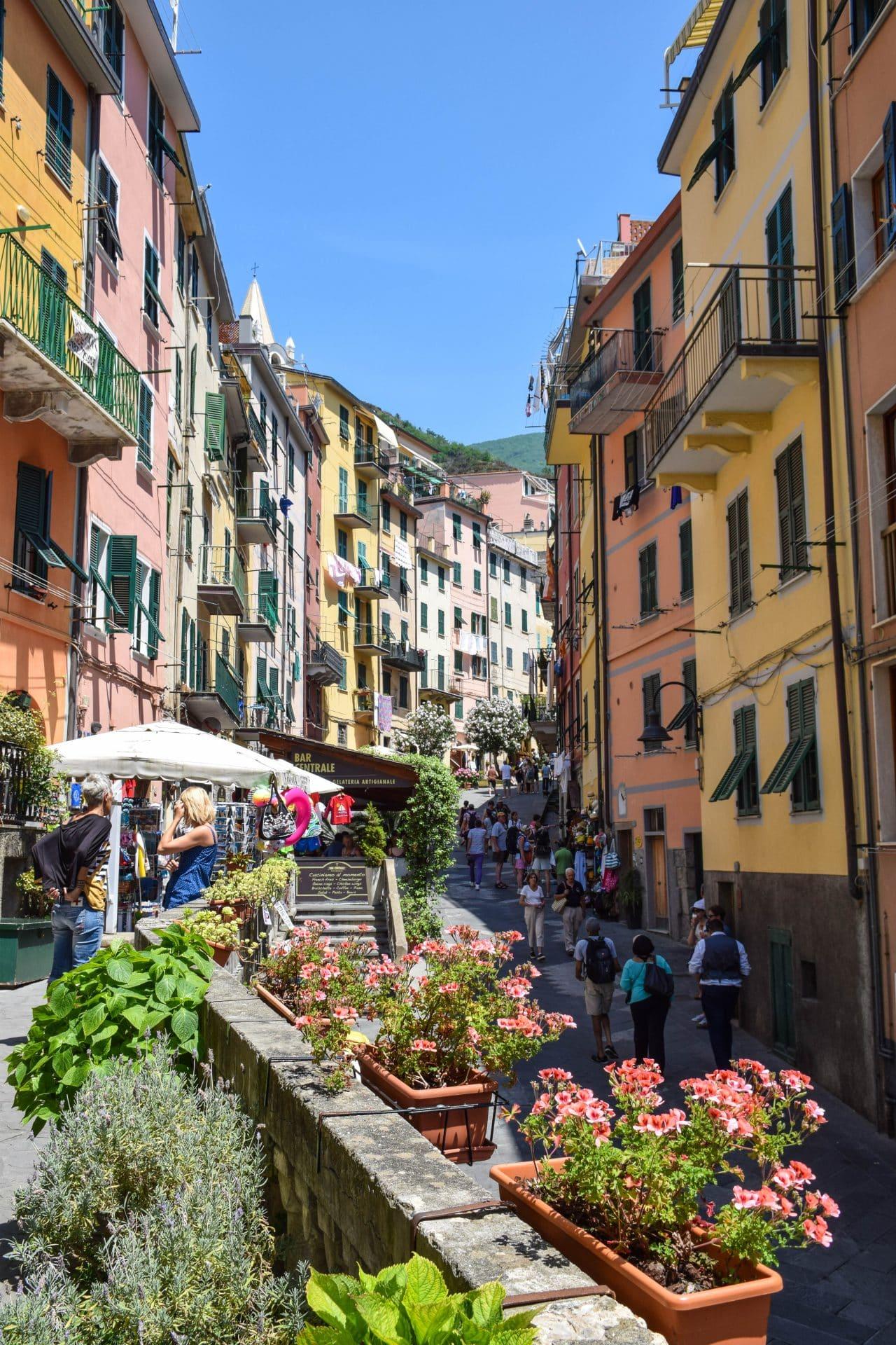 Riomaggiore Cinque Terre Streets