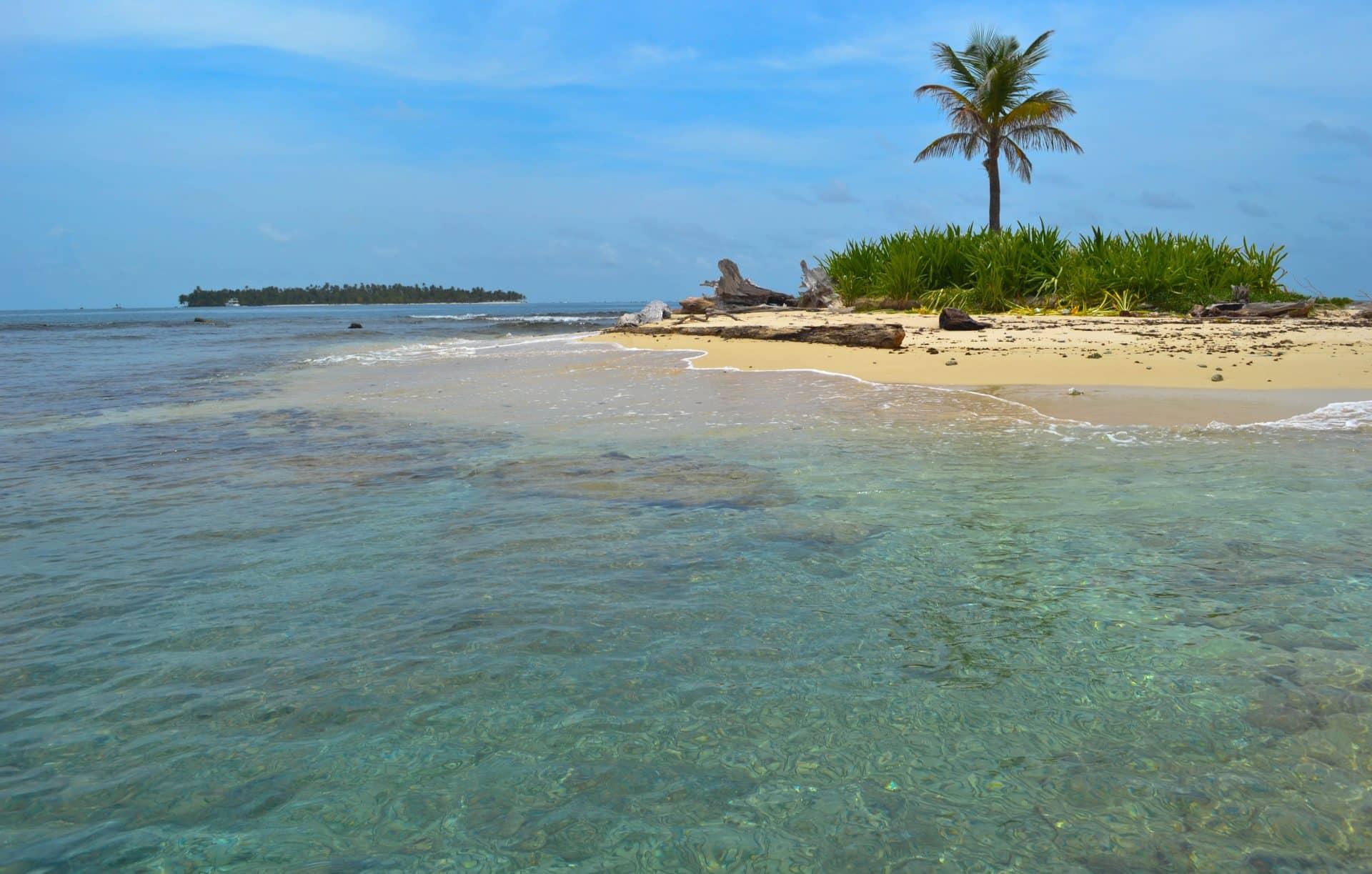 One Palm Island San Blas Panama