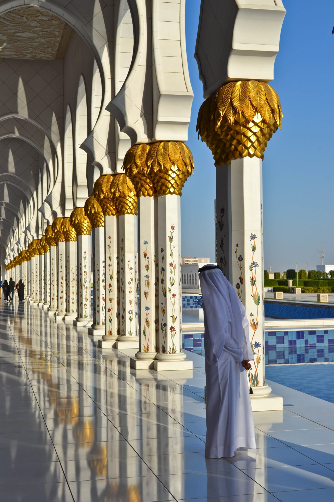 Abu Dhabi Mosque Sheikh Zayed