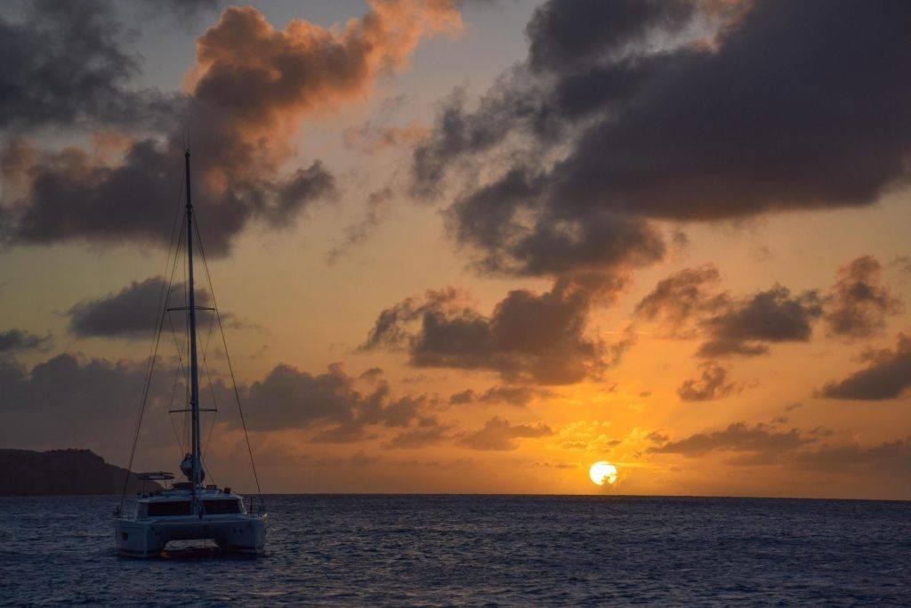 Sailing Lessons Caribbean Sunset