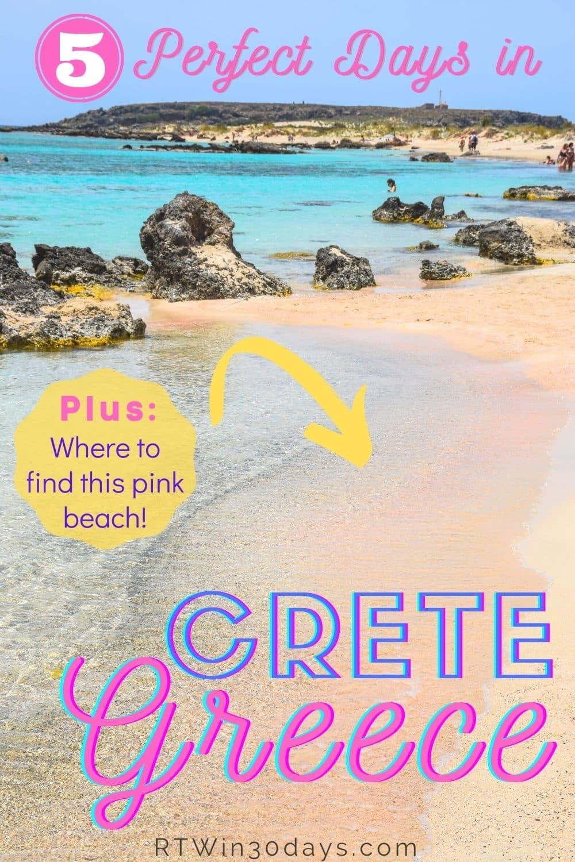 Elafonisi Beach Crete Things to Do