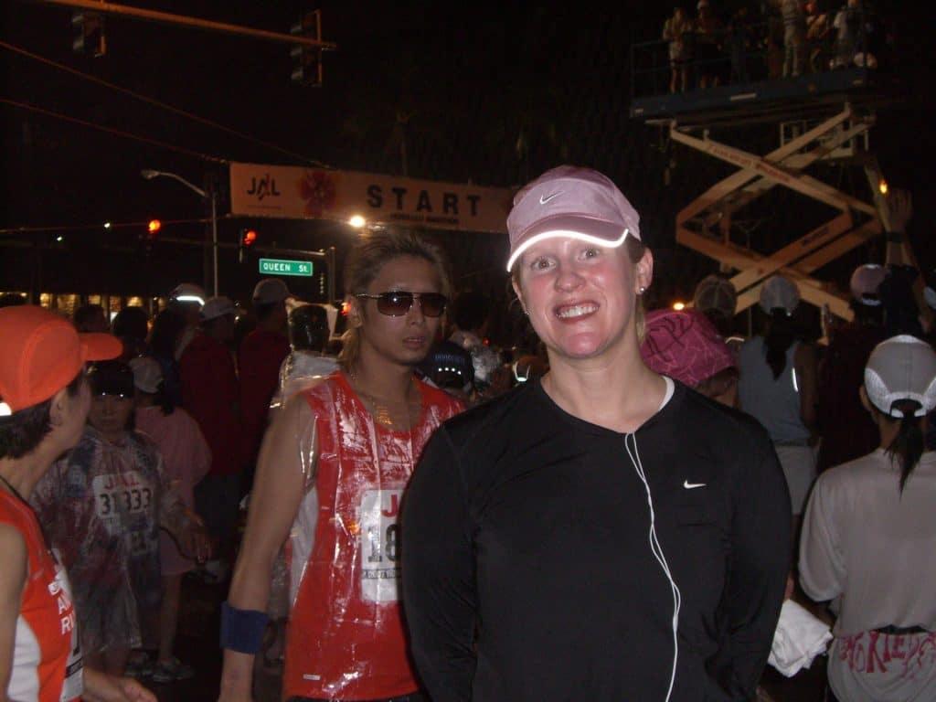 Honolulu Marathon Start Line