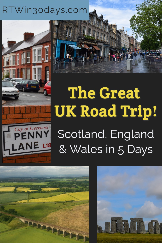 UK Road Trip Itinerary