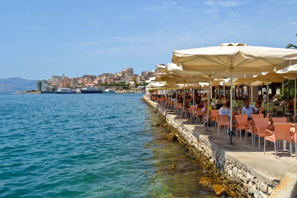 Albanian Riviera Saranda Corfu ferry