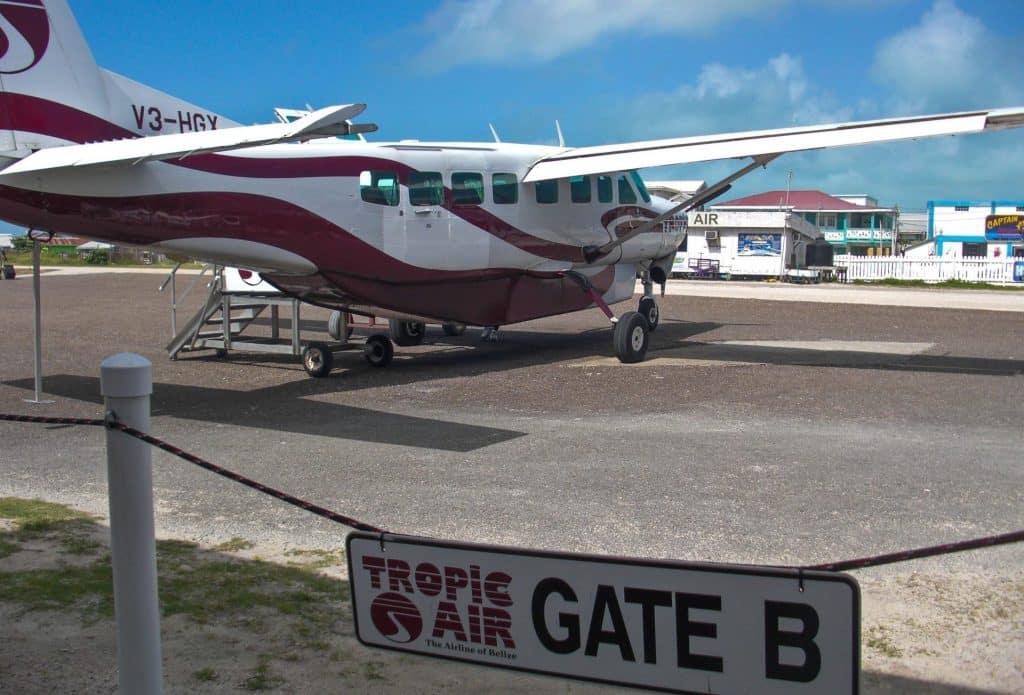 Ambergris Caye Belize flights