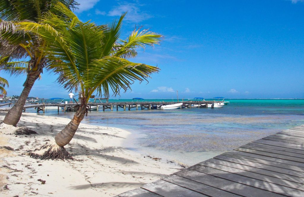 Beaches of Ambergris Caye Belize
