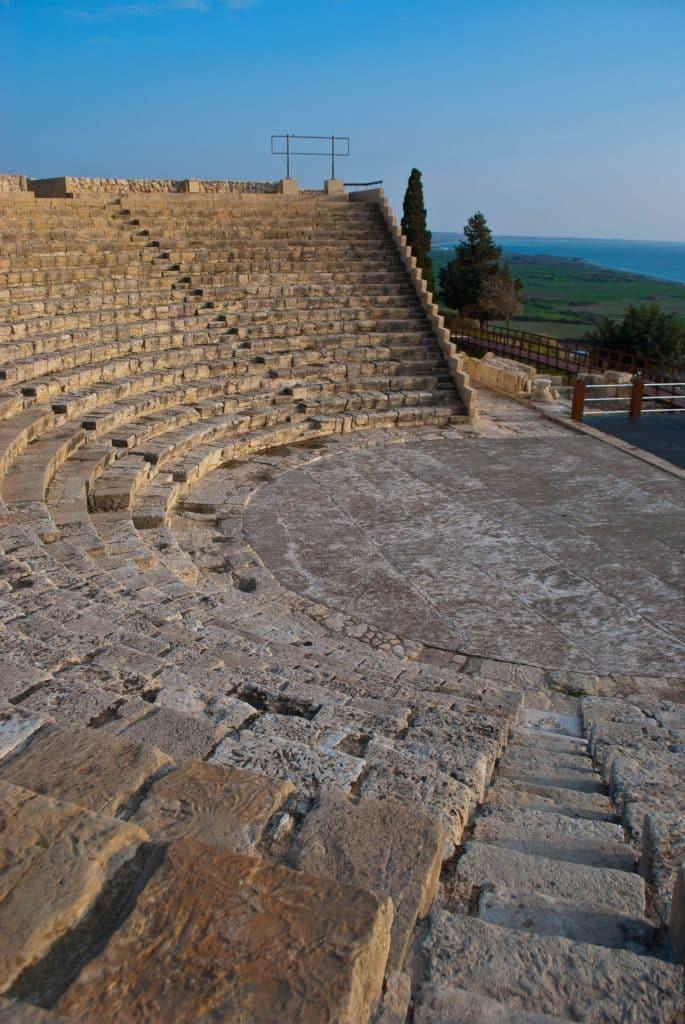 Kourion Cyprus Theater Greece