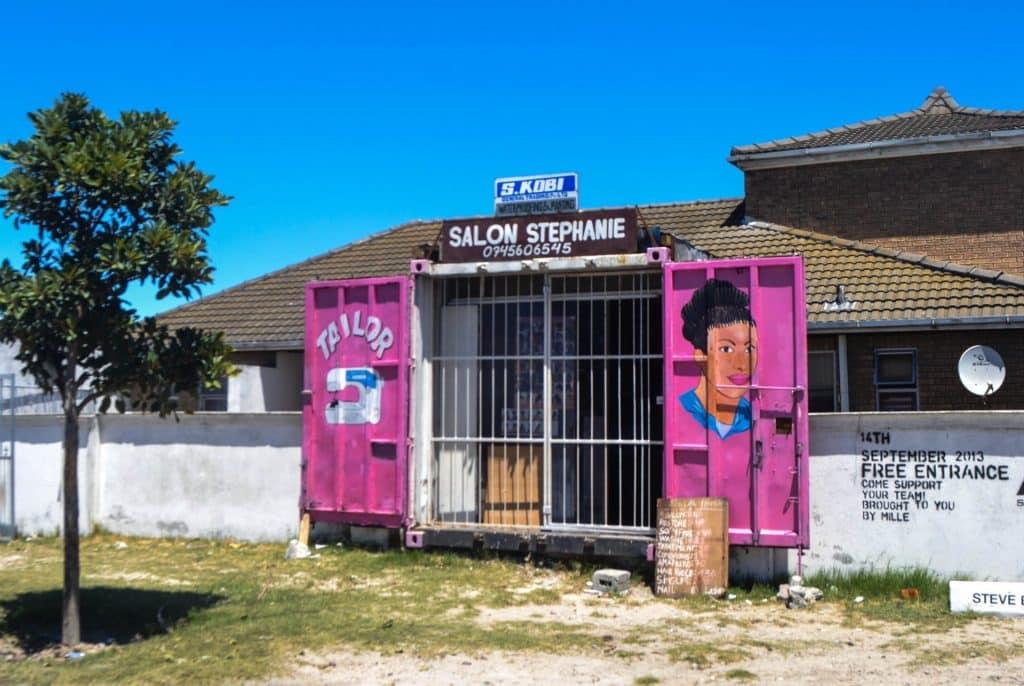 Langa township shop Cape Town