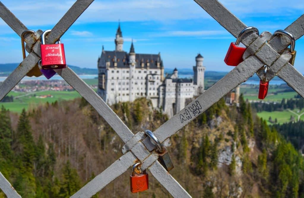 Marienbrucke Bridge Neuschwanstein Germany