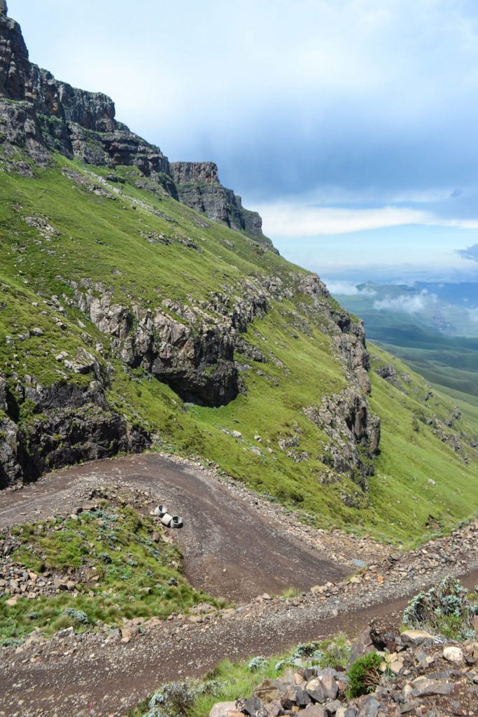 Sani Pass roads Lesotho South Africa