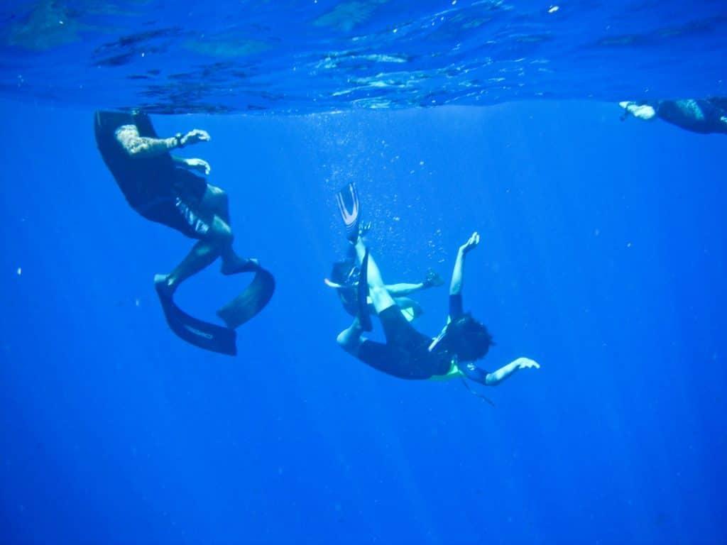 Snorkeling Motu Nui Easter Island