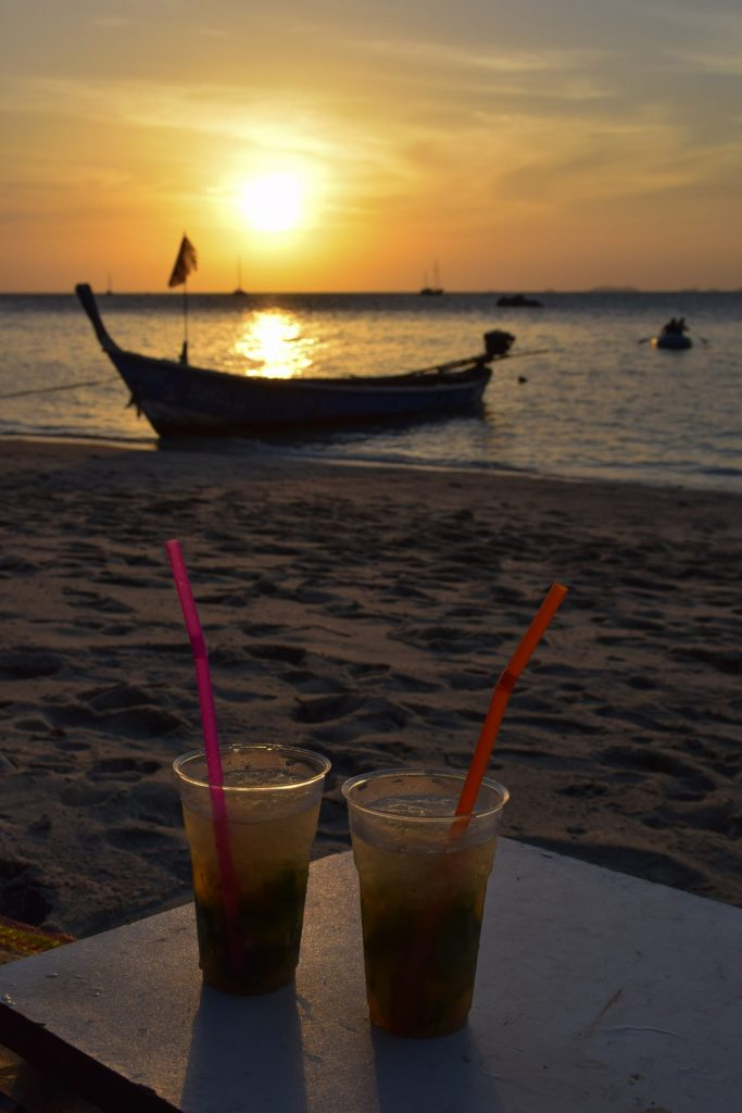 Sunset Beach Koh Lipe Thailand