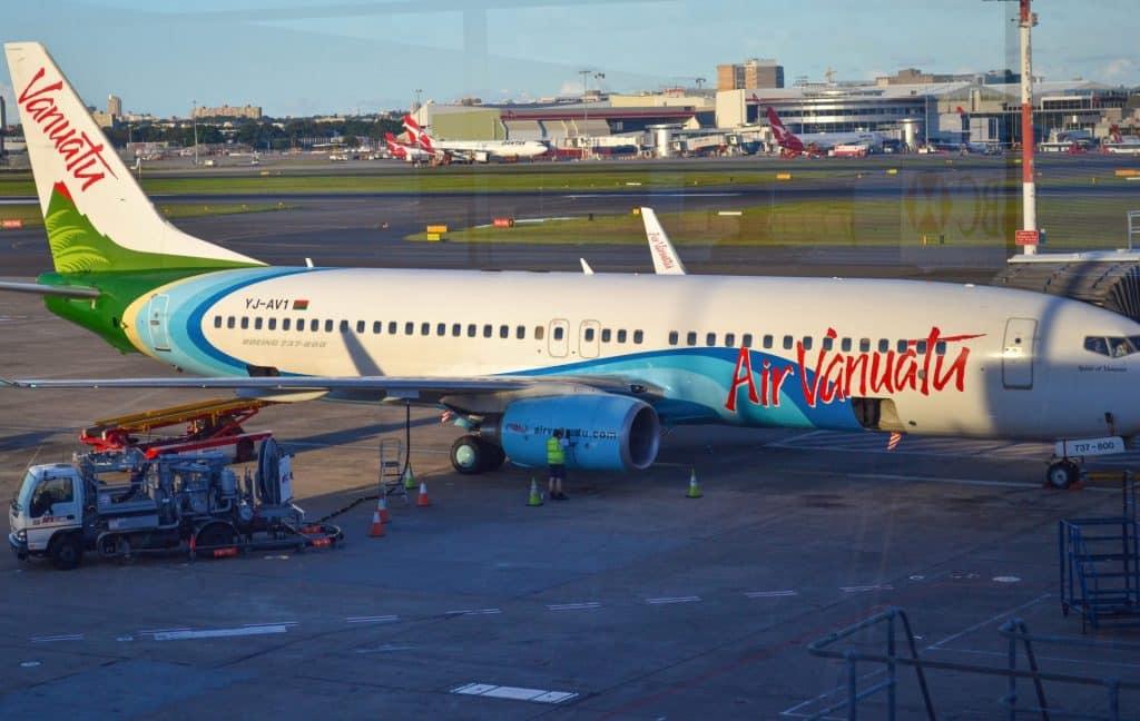 Vanuatu flights