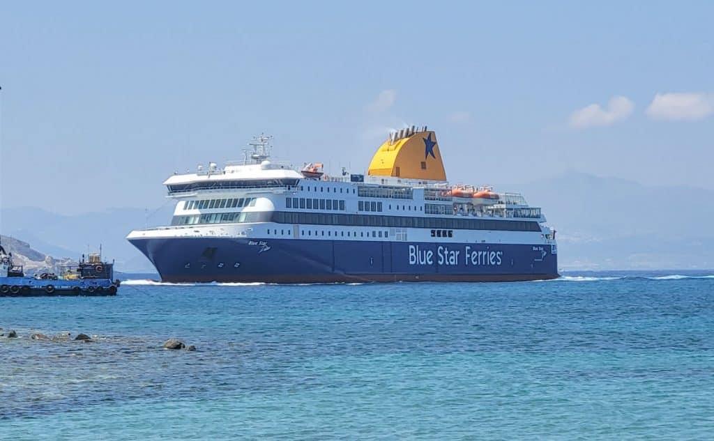 Blue Star Delos Ferry Athens Paros