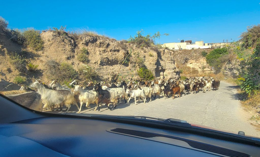 Driving in Milos