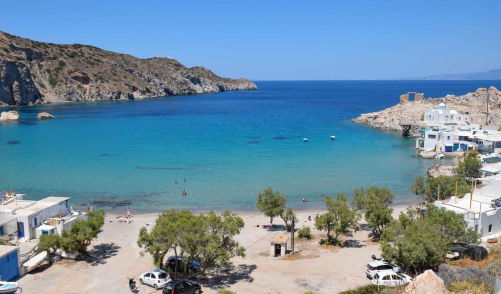 Fyropotamos Beach Milos Greece