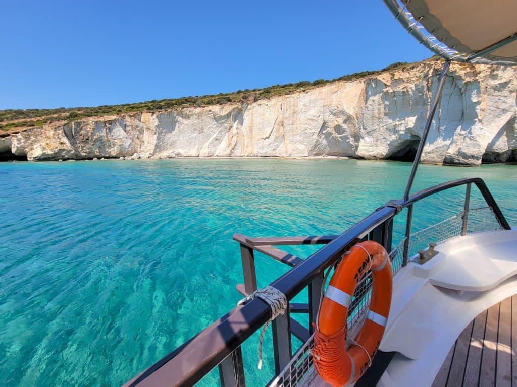 Kleftiko Milos Island Greece