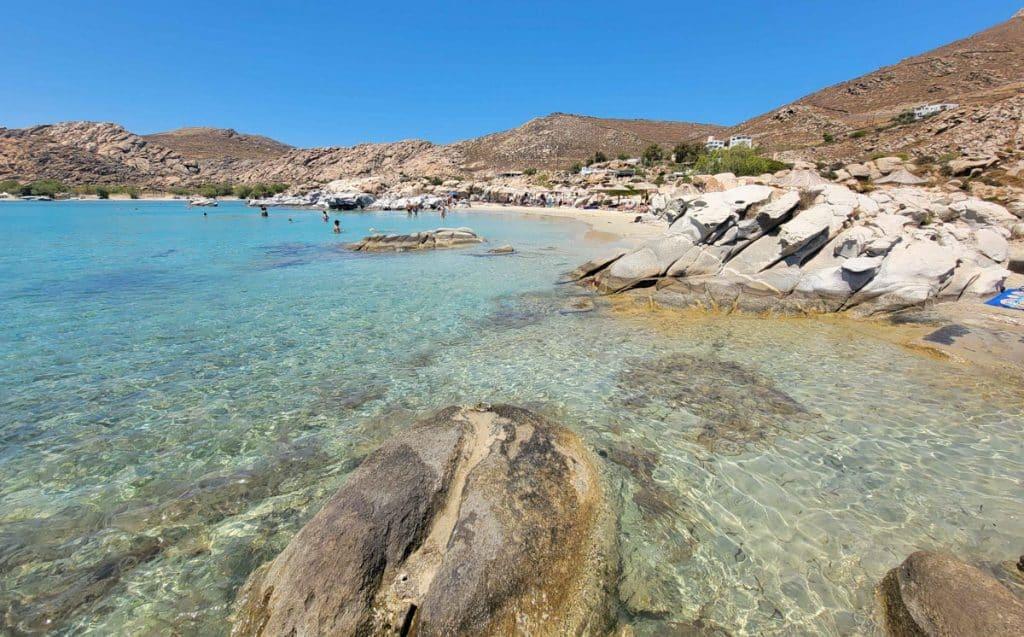 Kolymbithres Beach Paros Greece