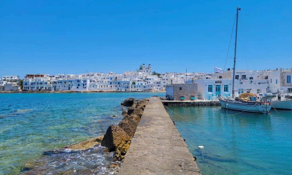 Naoussa Port Paros Greece