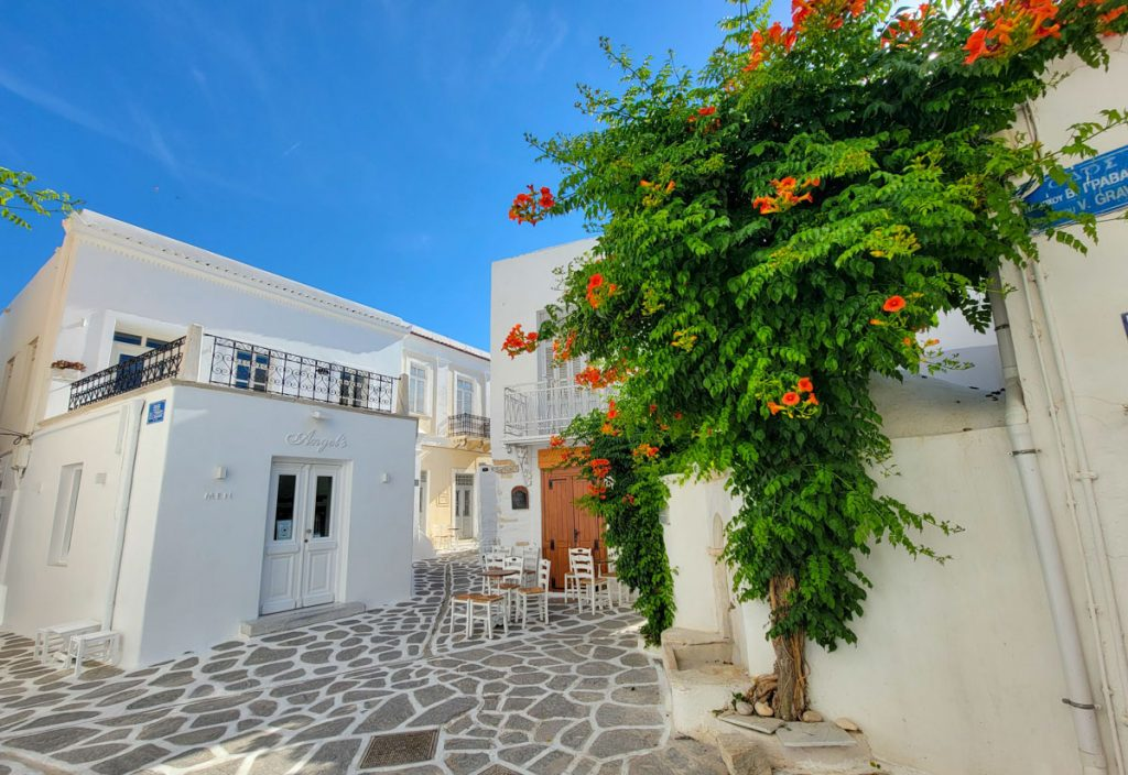 Parikia Town Paros Greece