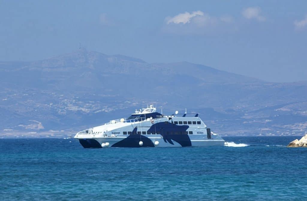 Seajets Fast Ferry Athens to Milos